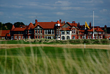 Clubhouse at Royal Liverpool Golf Club, Hoylake, Wirral